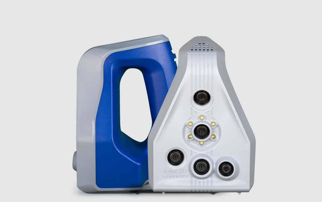 Artec Space Spider 3D Handscanner