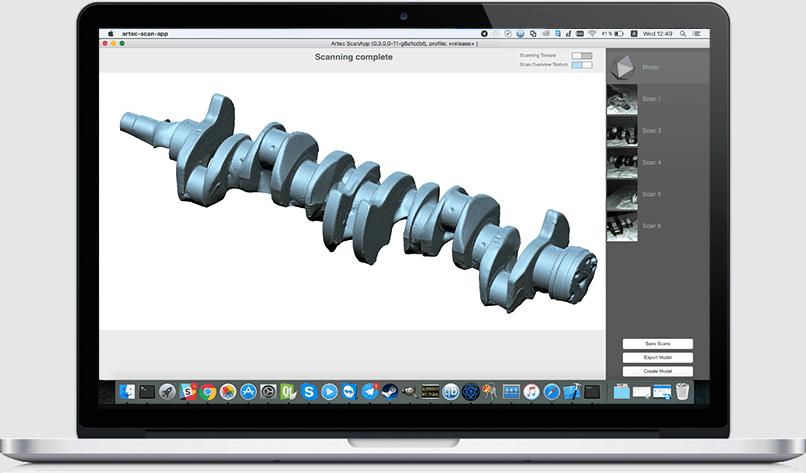 MAC 3D Scanner